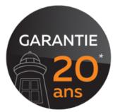Une garantie 20 en passant pas Les Ateliers Michel, menuisier Angers