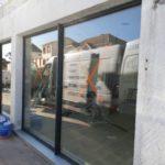 Rénovation de la devanture d'une boutique par les Ateliers Michel