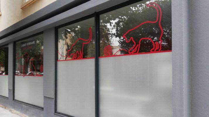 Aménagement extérieur d'un cabinet vétérinaire à Nantes