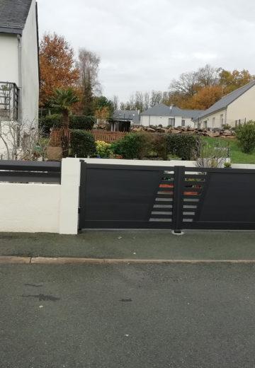 Pose de portail dans le Maine-et-Loire : Les Ateliers Michel
