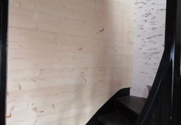 pose escalier et lambris Angers par Les Ateliers Michel