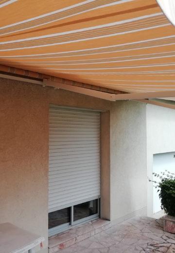 Pose de stores extérieurs à Angers 49 par les Ateliers Michel