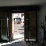 Pose de porte automatique pour magasin en Loire-Atlantique, les Ateliers Michel