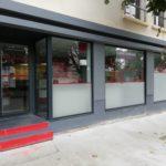 Création de devanture vitrées pour un cabinet vétérinaire
