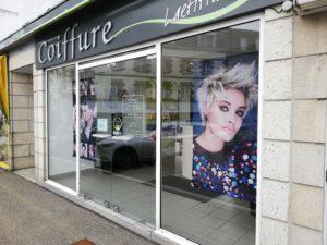 changer façade d'un salon de coiffure : avant travaux