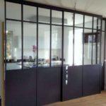 installation de verrière de cuisine coulissante à Angers