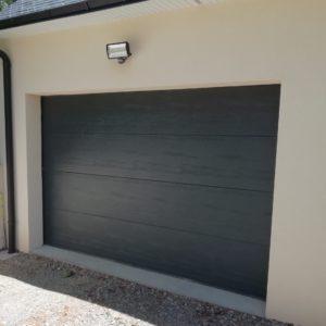 exemple de porte de garage sectionnelle