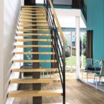 Choisir un escalier design bois et acier à Angers