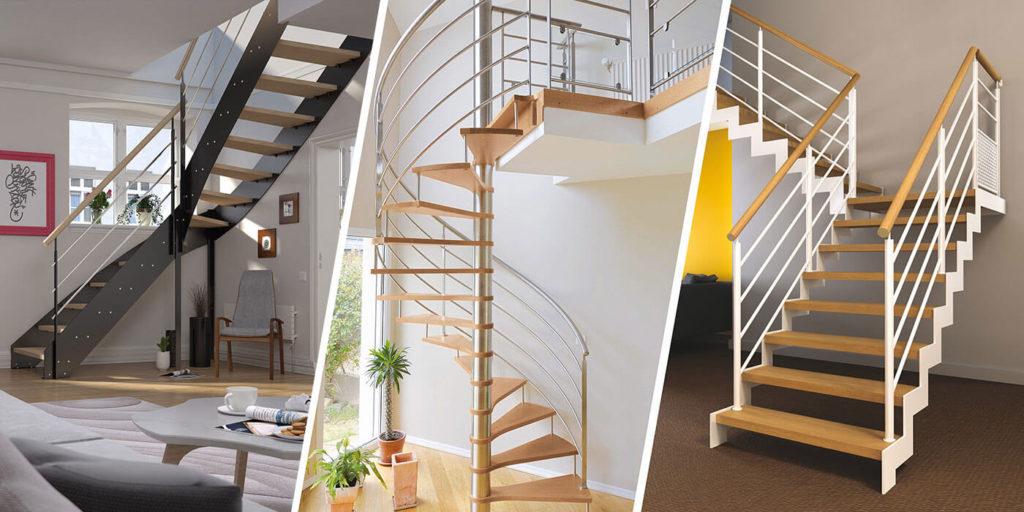 Pose d'escaliers design par les Ateliers Michel Angers et le Lion d'Angers