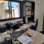 Création d'un bureau personnalisé par nos menuisiers dans le Maine et Loire
