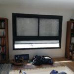 espace disponible avant création d'une bibliothèque sur mesure