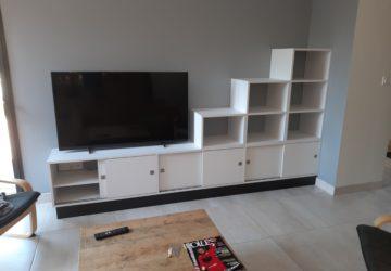 création d'une console télé sur mesure à Angers