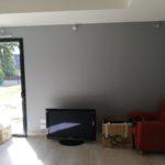 espace télé avant création d'une meuble sur mesure dans le maine et loire