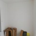 espace disponible avant la création d'un dressing à Angers