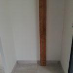 niche vide avant installation d'étagères à Angers